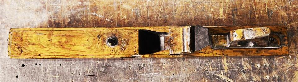 herramientas de carpintería antiguas cepillo de madera