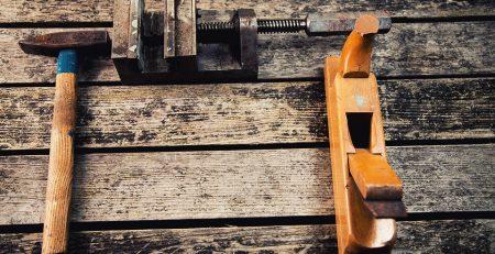 herramientas de carpintería antiguas