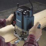 fresadora makita RP1800X madera